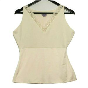Spanx By Sara Blakely Lace V Neck Camisole 1X Cami